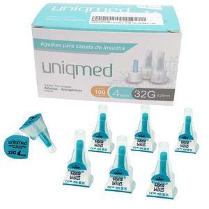 agulha-para-caneta-de-insulina-uniqmed-32g-4mm-com-100-unidades