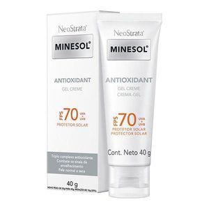 Protetor-Solar-Facial-Neostrata-Minesol-Antioxidant-FPS-70-Gel-Creme-40g