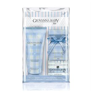 Kit-Mini-Colonia-Giovanna-Baby-60ml---Locao-Hidratante-Blue-200ml---Necessaire