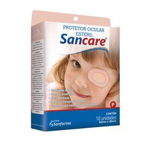 Protetor-Ocular-Esteril-Sancare-Tamanho-P-10-Unidades