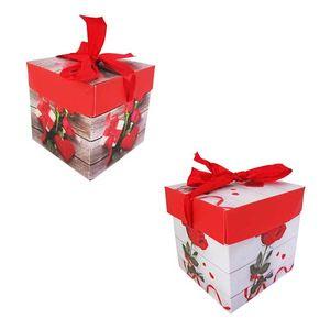 caixa-cubo-para-presente-de-papel-flores-com-fita-10cm