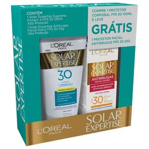 kit-protetor-solar-l-oreal-expertise-supreme-protect-4-fps-30-120ml-gratis-protetor-solar-expertise-facial-antirrugas-fps-30