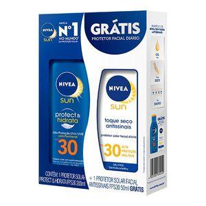 kit-protetor-solar-nivea-sun-protect-hidrata-fps-30-200ml-gratis-facial-fps-30-50ml