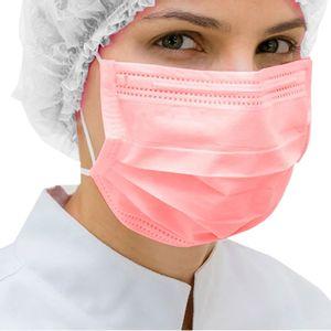 Mascara-Cirurgica-Dupla-Descartavel-Style-Acao-Rosa-Com-Elastico-50-Unidades