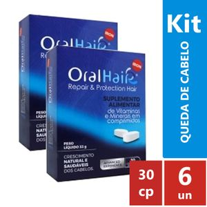 KIT-Oral-Hair-IRON-6-caixas-de-30-capsulas-cada