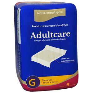 Protetor-de-Colchao-Adultcare-Descartavel-Tamanho-G-5-Unidades