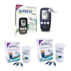 Kit-para-Controle-de-Glicemia-G-Tech-Free---110-Tiras-para-Teste