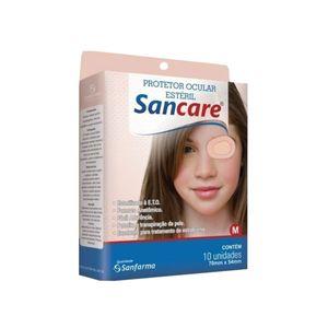 Protetor-Ocular-Esteril-Sancare-Tamanho-M-10-Unidades