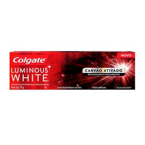 Creme-Dental-Colgate-Luminous-White-Carvao-Ativado-70g