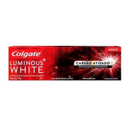 Creme-Dental-Colgate-Luminous-White-Carvao-Ativado-70g