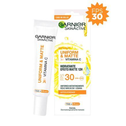 Hidratante-Facial-Garnier-SkinActive-Uniform-e-Matte-FPS-30-15g
