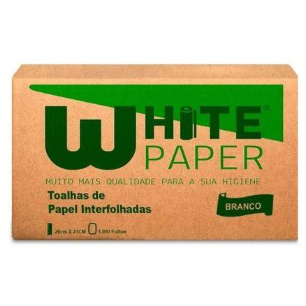 Toalhas-de-Papel-Interfolhadas-White-Paper-Branco-20x21cm-1000-Folhas