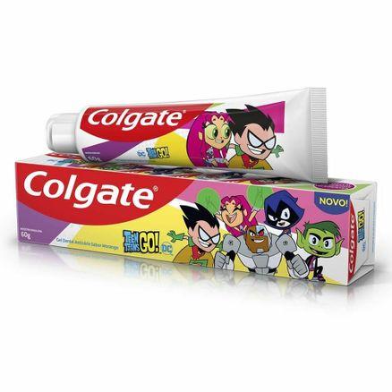 Creme-Dental-Infantil-Colgate-Teen-Titans-Go--Sabor-Morango-60g