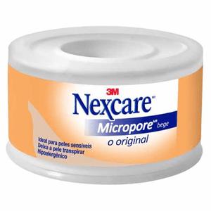 Esparadrapo-Micropore-Nexcare-Bege-25Mm-X-45M