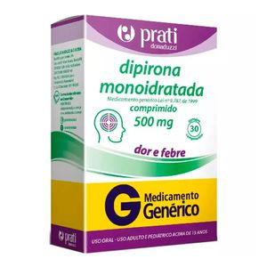 Dipirona-Sodica-500mg-30-comprimidos-Generico-Prati-Donaduzzi