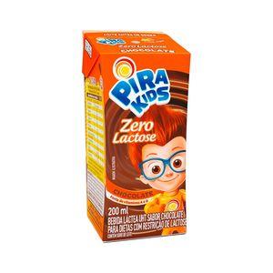 Bebida Láctea Pirakids Zero Lactose Sabor Chocolate 200ml
