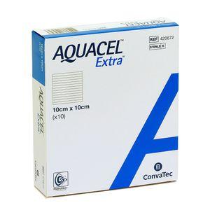 Curativo Aquacel Extra Convatec 10cm X 10cm 1 Unidade