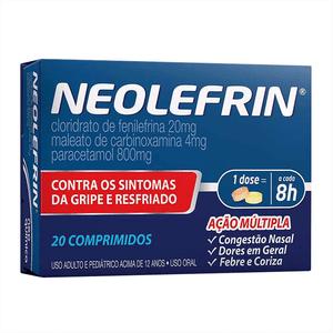 Neolefrin-20-comprimidos