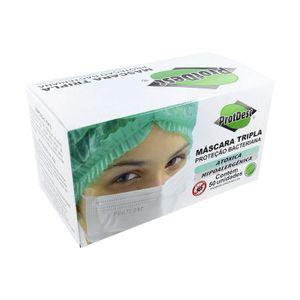 Mascara-Cirurgica-Tripla-Descartavel-Protdesc-com-Elastico-50-Unidades