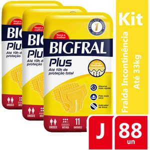 Kit-Fralda-Geriatrica-Bigfral-Plus-Juvenil-88-unidades-