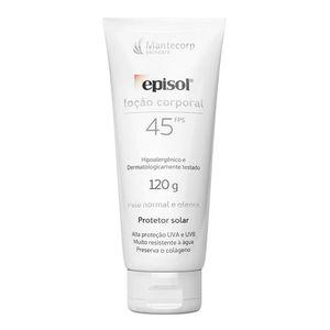 Protetor-Solar-Episol-FPS-45-Locao-Corporal-120g
