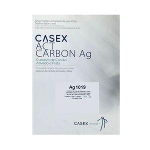 Curativo de Carvão Ativado e Prata Casex 10,5 X 19cm 1 Unidade
