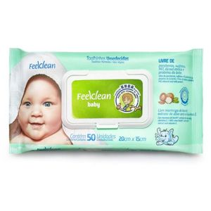 Toalhas-Umedecidas-Feelclean-Baby-50-Unidades