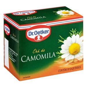cha-de-camomila-dr-oetker-10-saches