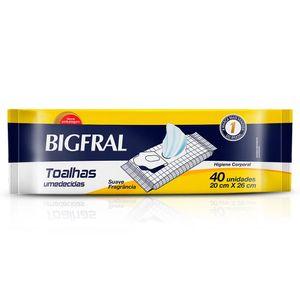 Toalhas-Umedecidas-Bigfral-Adulto-40-unidades