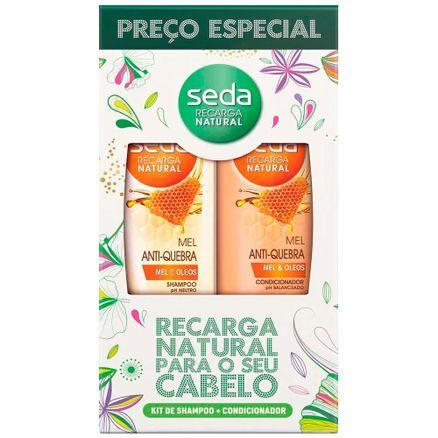 kit-shampoo-condicionador-seda-recarga-natural-mel-antiquebra-325ml