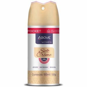 desodorante-aerosol-above-pocket-women-soft-creme-100ml