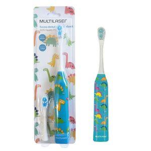 escova-dental-infantil-multilaser-eletrica-dinossauro-kids-healt-pro