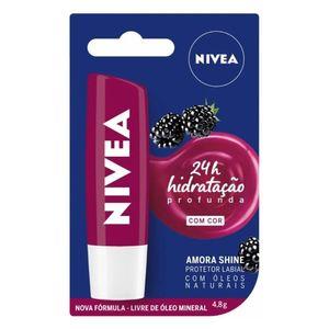 Protetor-Labial-Nivea-Amora-Shine-48g