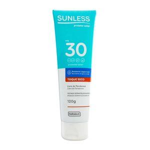 protetor-solar-sunless-fps-30-toque-seco-120g