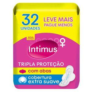 absorvente-intimus-tripla-protecao-cobertura-suave-com-abas-32-unidades