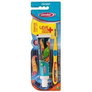 kit-infantil-de-higiene-oral-condor-hot-wheels-com-escova-gel-dental-leve-mais-pague-menos-cores-sortidas