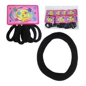 elastico-de-cabelo-preto-6-unidades