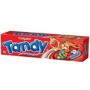 Creme-Dental-Gel-Tandy-Morango-50g