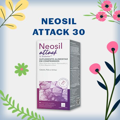 NEOSIL ATTACK 30 COMPRIMIDOS EMS