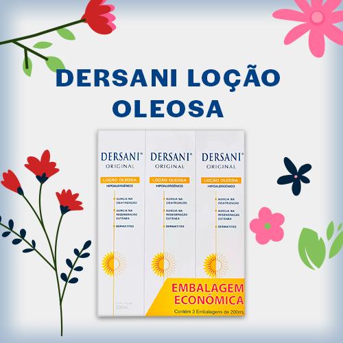 DERSANI LOÇÃO OLEOSA 3